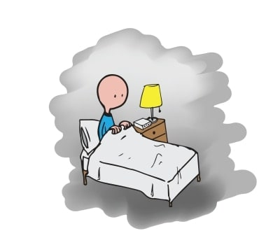 søvn og afslapningsproblemer