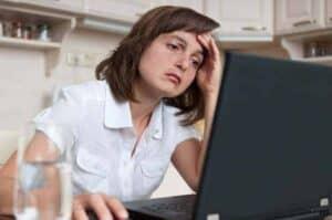 computerarbejde kan give spændingshovedpine